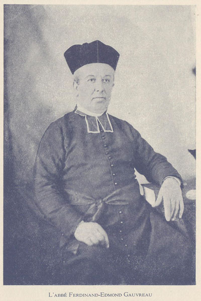 Photo de l'abbé Ferdinand Edmond Gauvreau